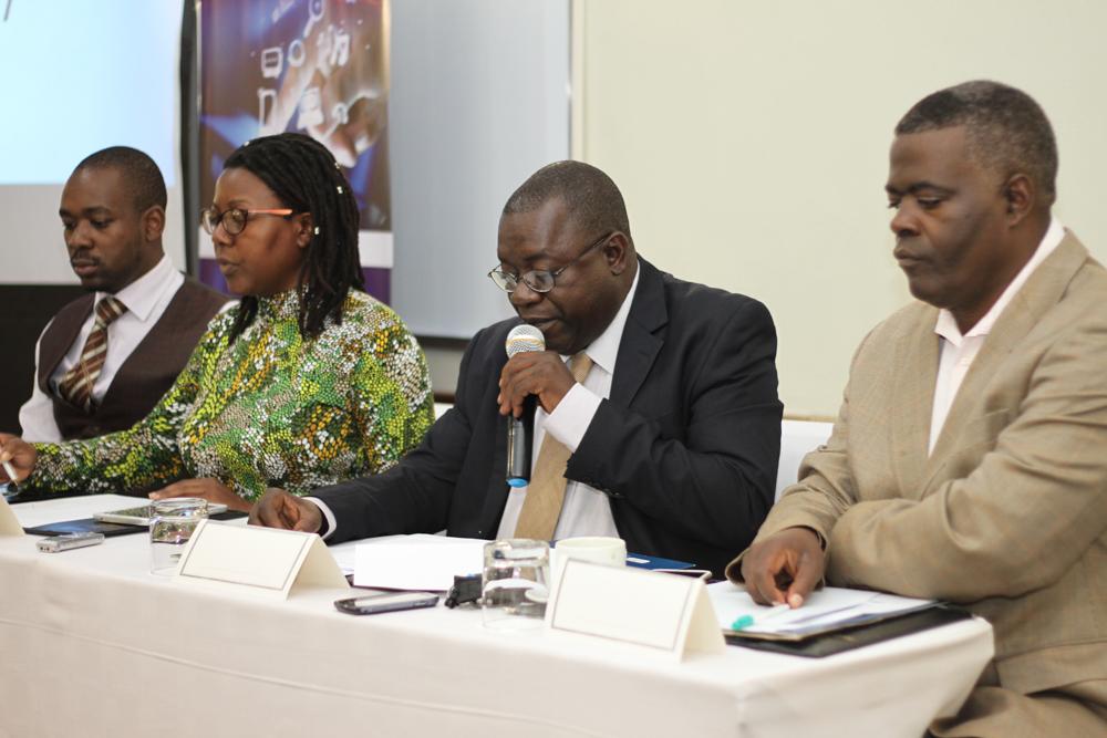 Panelists at the breakfast meeting held by MISA Zimbabwe