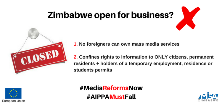 AIPPA Reform key to free, fair and credible elections in Zimbabwe