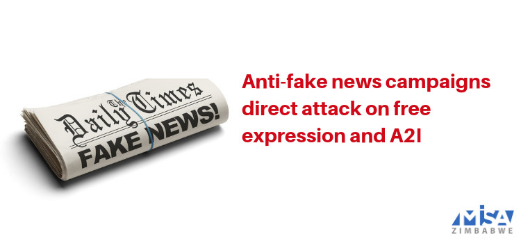 Anti-fake news campaigns direct attack on free expression and A2I