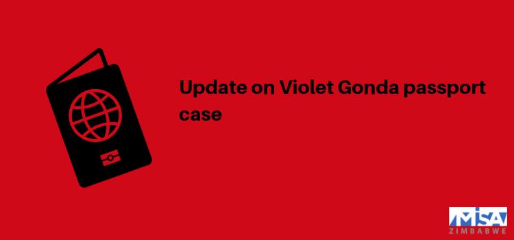 Update on Violet Gonda passport case