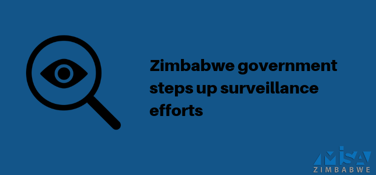Zimbabwe government steps up surveillance efforts