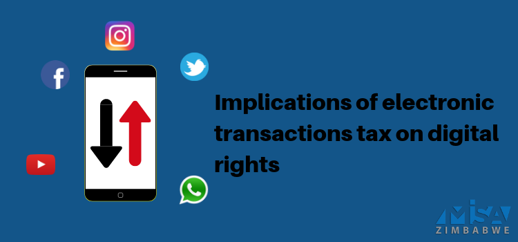 Implications of electronic transactions tax on digital rights