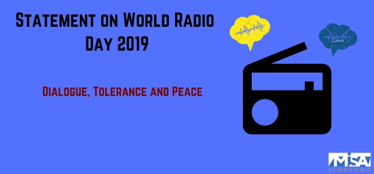 Statement on 2019 World Radio Day