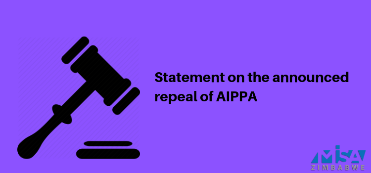 Statement on the announced repeal of AIPPA