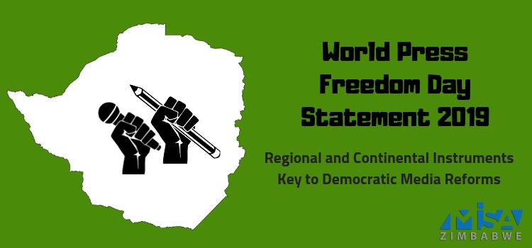 World Press Freedom Day Statement 2019