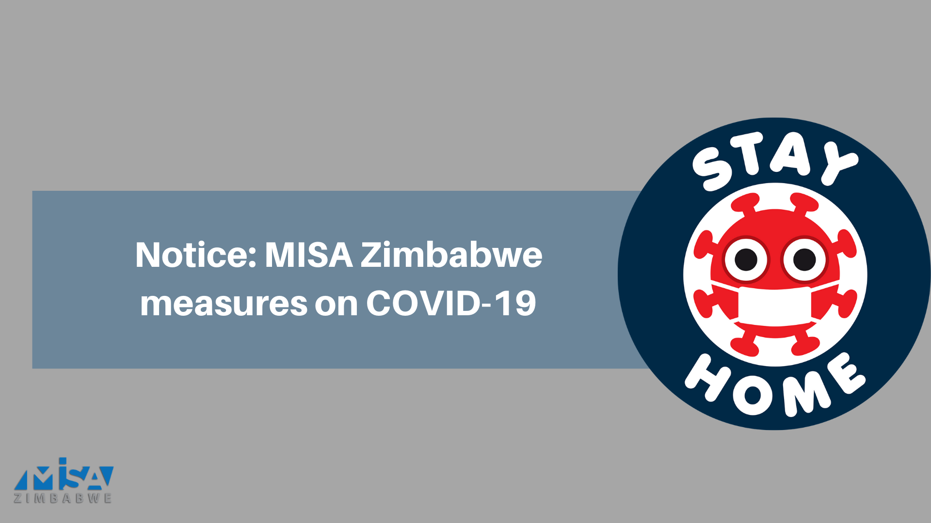 Notice: MISA Zimbabwe measures on COVID-19