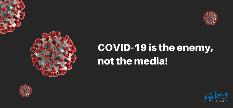 Covid-19 lockdown, media freedom, access to information, Zimbabwe