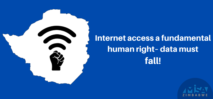 data must fall, internet access right, Zimbabwe