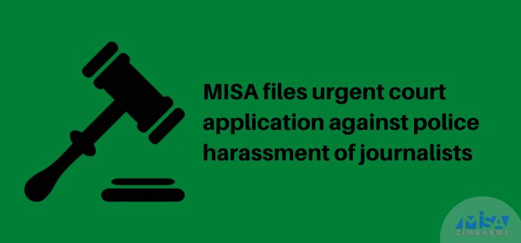 Court application, police harassment, Zimbabwe, COVID-19 lockdown