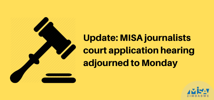 High court application, journalist harassment, Zimbabwe, COVID-19 lockdown