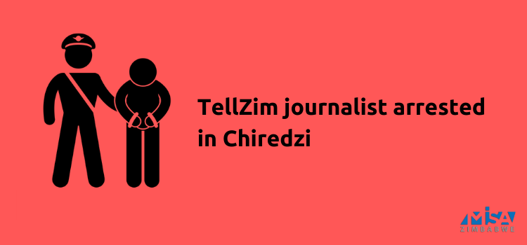 TellZim journalist arrested, COVID-19 lockdown, Zimbabwe