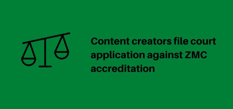 Zimbabwe Online Content Creators, Zimbabwe Media Commission, accreditation, 2020