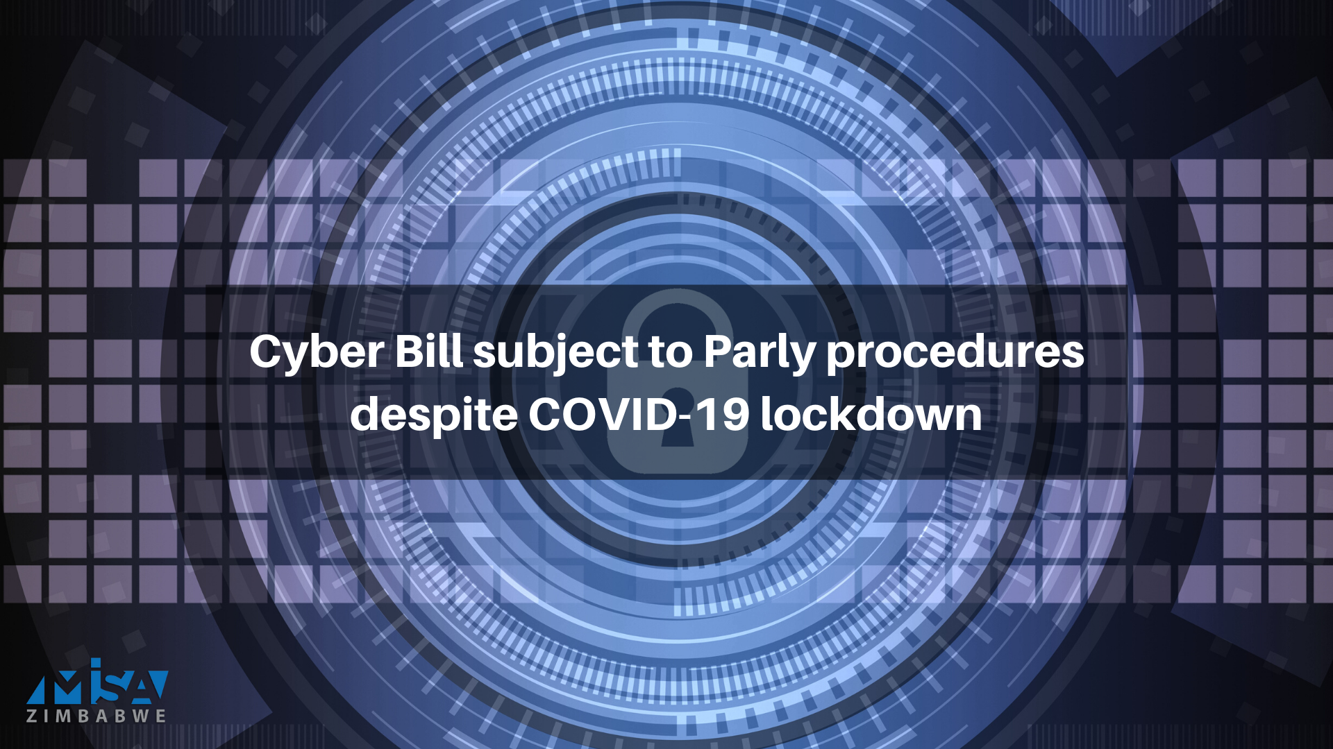 Cyber Bill subject to Parly procedures despite COVID-19 lockdown