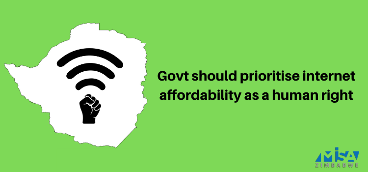 Govt should prioritise internet affordability as a human right