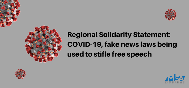 COVID-19, fake news laws being used to stifle free speech