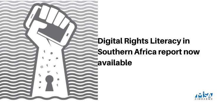 Digital Rights literacy, report, Southern Africa, SADC