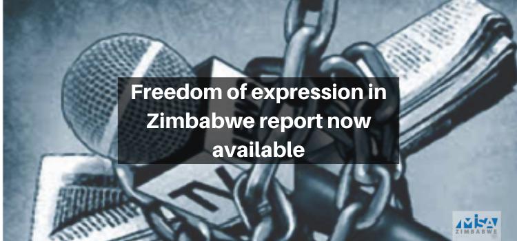 Freedom of expression, Zimbabwe