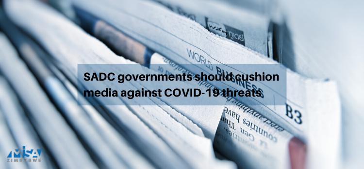 SADC, media, COVID-19 threats