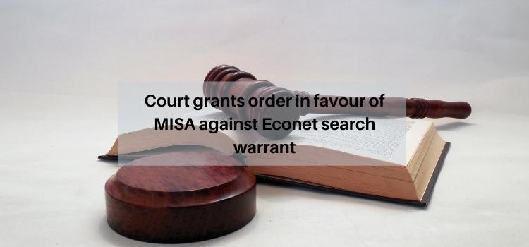 digital rights, Econet search warrant, Zimbabwe