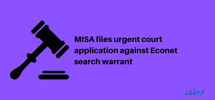 Econet, Zimbabwe, court application