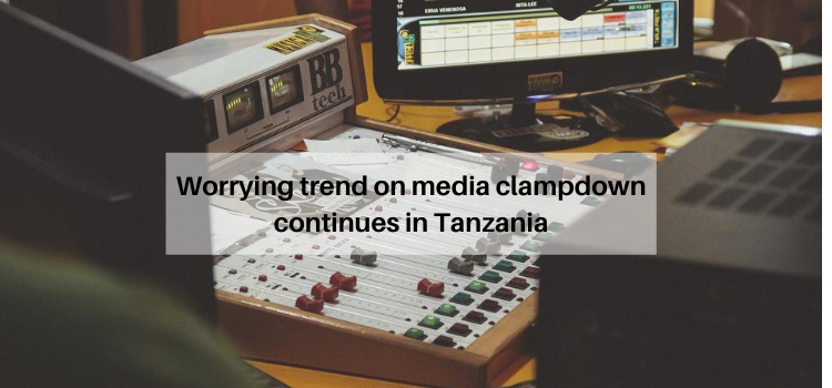 Tanzania. media clampdown