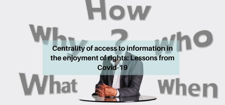 Information, COVID-19
