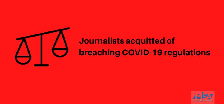 Chikowore, Takawira acquitted, COVID-19 regulations, Zimbabwe