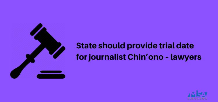 Chin'ono, trial date, COVID-19, media violations, Zimbabwe