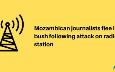 Mozambican journalists flee into the bush following attack on radio station