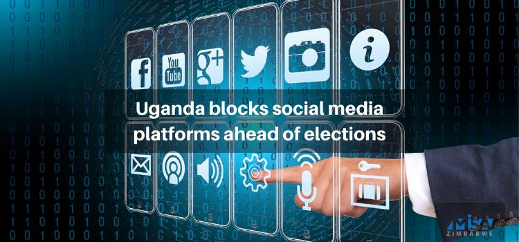 Uganda blocks social media platforms ahead of elections