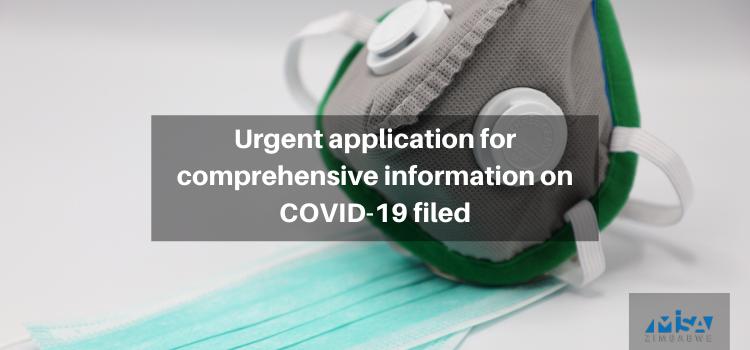 Urgent application for comprehensive information on COVID-19 filed