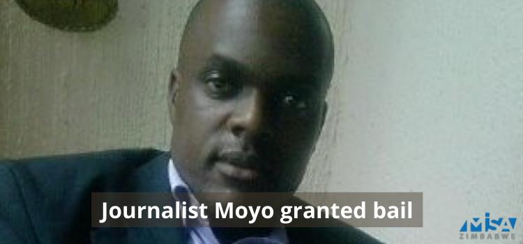Journalist Moyo granted bail