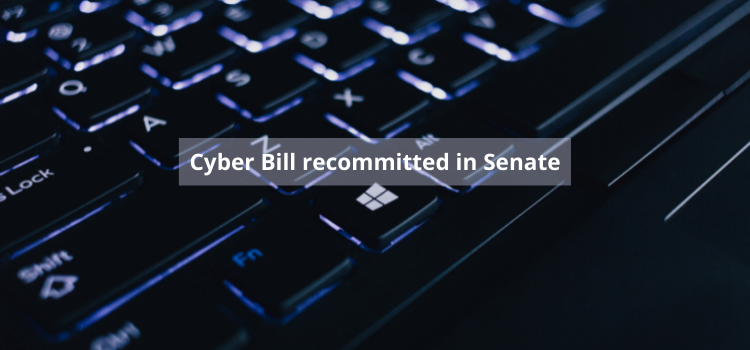 Cyber Bill recommitted in Senate