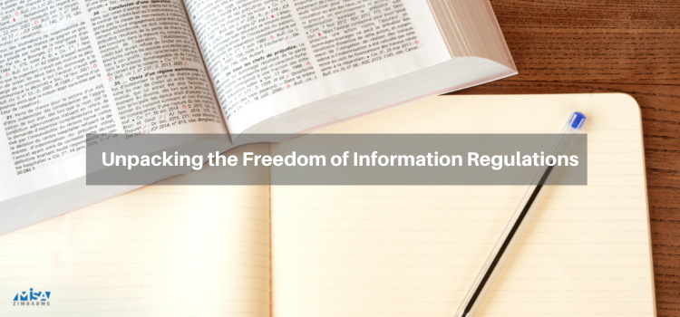 Unpacking the Freedom of Information Regulations
